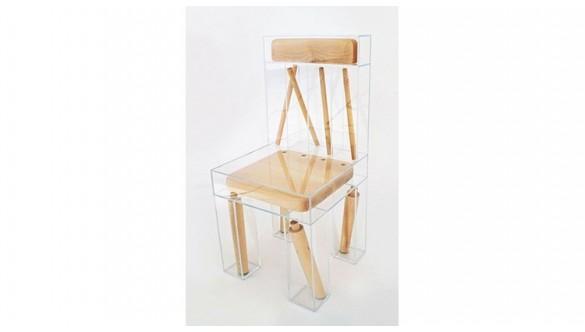 La chaise Exploded par la designer americaine Joyce Lin